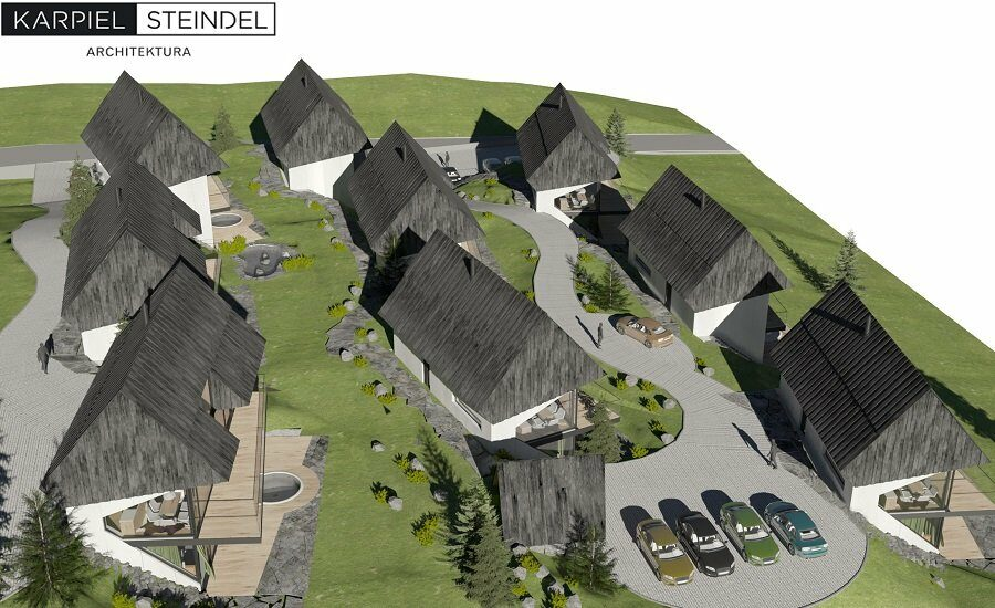 Zespół 9 budynków mieszkalnych jednorodzinnych, Kościelisko