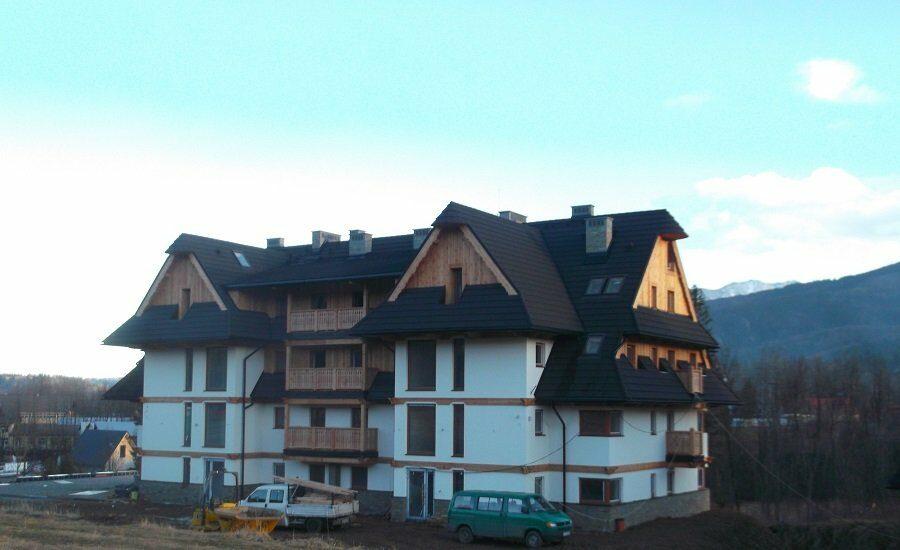 Apartamenty przy ul. Powstańców Śląskich w Zakopanem