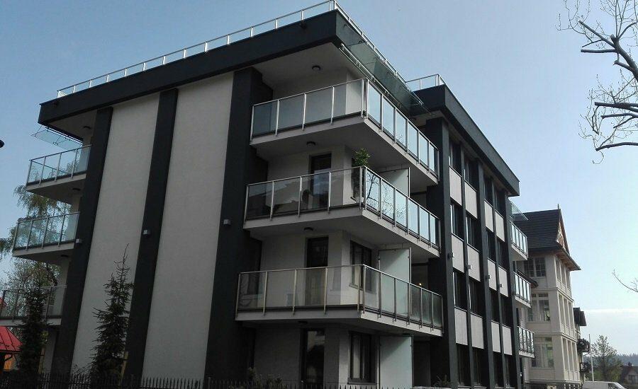 """Budynek mieszkalny- """"Willa Granitica"""", Zakopane"""
