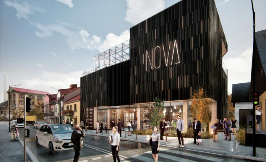 Dom handlowy Nova w Limanowej