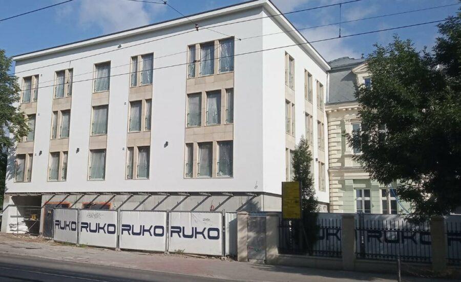 Budynek mieszkalny w Krakowie